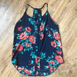 Lovely Floral Top
